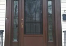 Beautiful Front Entry Door Installed by The Window Source