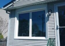 Twin Casement Windows with Aluminum Capping
